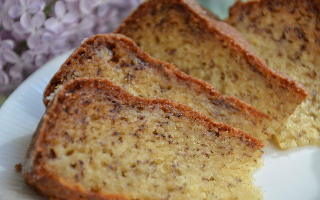 Soft & Delicious Spelt Banana Loaf