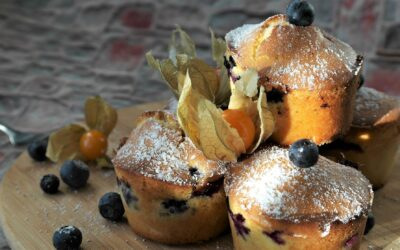 Our Marvellous Blueberry Muffins